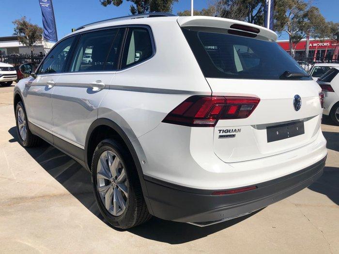 2019 Volkswagen Tiguan 132TSI Comfortline Allspace 5N MY20 Four Wheel Drive White