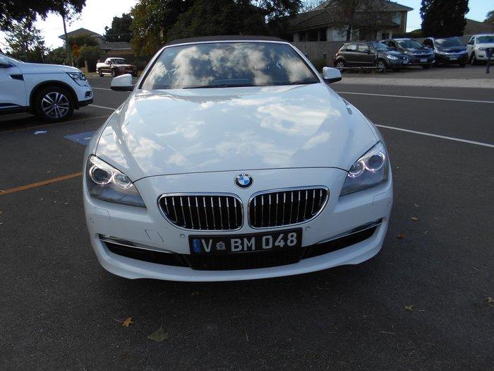 2011 BMW 6 Series 640i F12 MY11 White