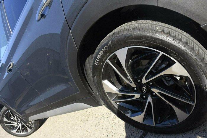 2019 Hyundai Tucson Highlander TL3 MY20 4X4 On Demand Blue