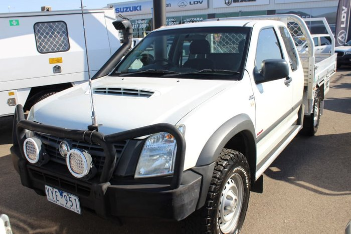 2007 Holden Rodeo LX RA MY07 4X4 White