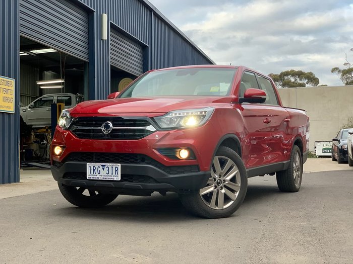 2019 SsangYong Musso Ultimate Plus Q201 MY20 4X4 Dual Range Red