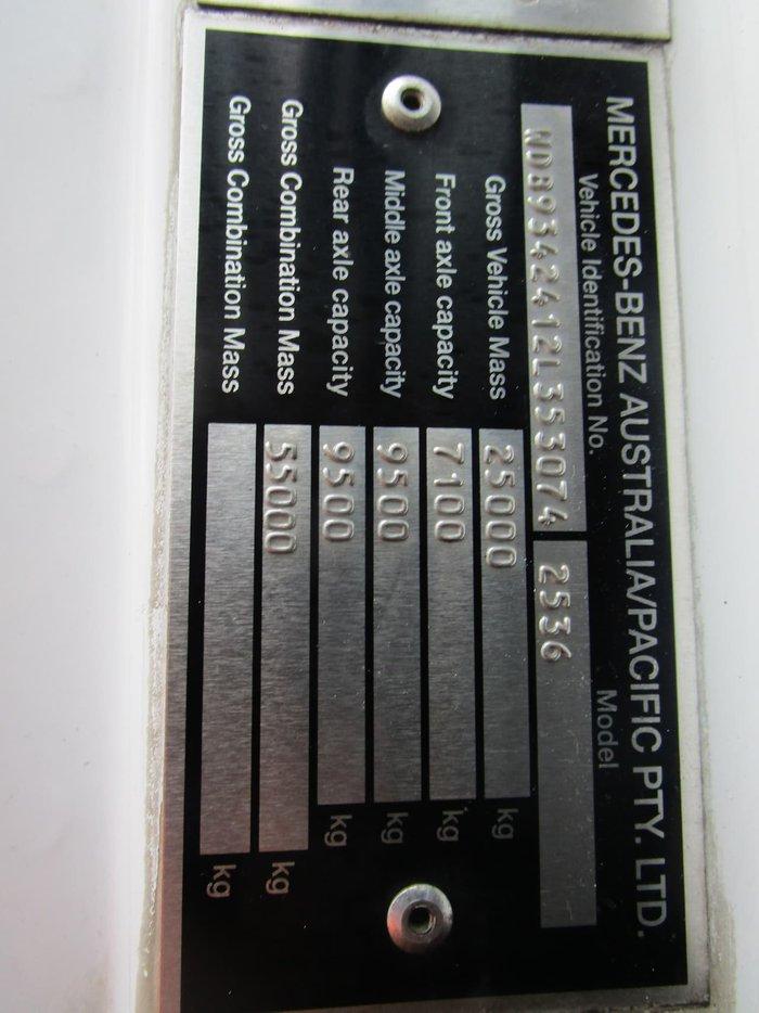 2008 MERCEDES-BENZ 2636 null null WHITE