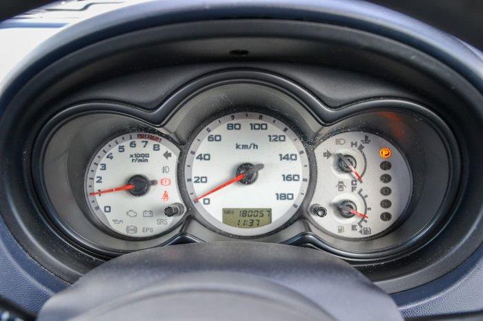 2007 Mitsubishi Colt ES RG MY07 Blue