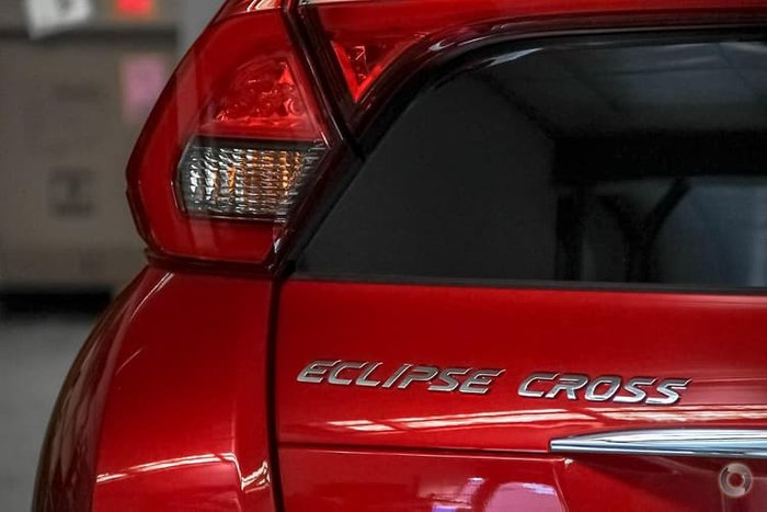 2020 Mitsubishi Eclipse Cross Black Edition YA MY20 Red