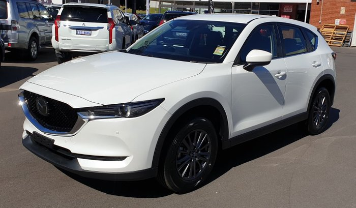 2020 Mazda CX-5 Touring KF Series 4X4 On Demand White