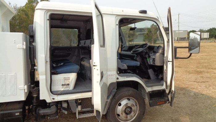 2012 FUSO CANTER 815 WIDE DUAL CAB TIPPER null null White
