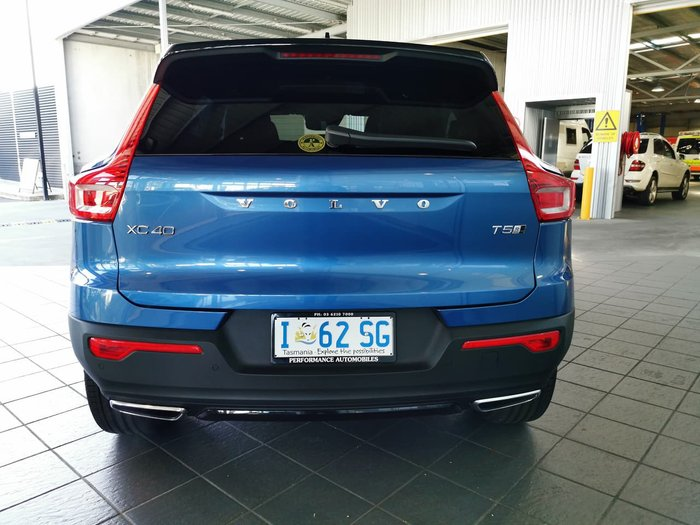 2020 Volvo XC40 T5 R-Design MY20 Four Wheel Drive Blue