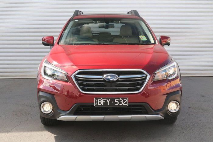2019 Subaru Outback 3.6R 5GEN MY19 Four Wheel Drive Red