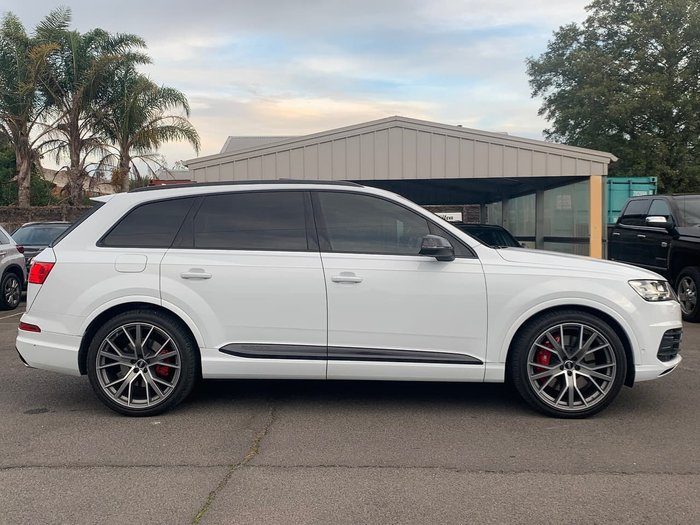 2019 Audi SQ7 TDI Special Edition 4M MY19 Four Wheel Drive White