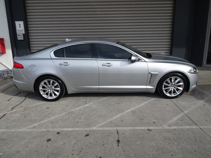 2013 Jaguar XF Luxury X250 MY13 Silver