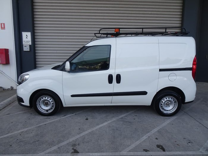 2017 Fiat Doblo 263 Series 1 White