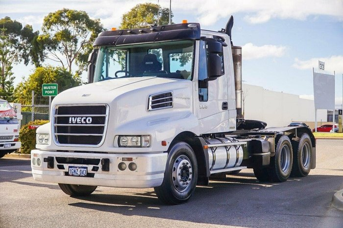 2013 IVECO POWERSTAR null null White