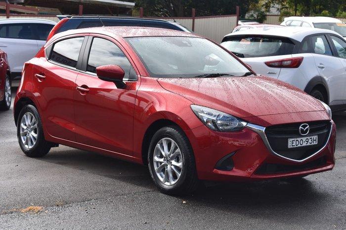 2019 Mazda 2 Maxx DJ Series Red