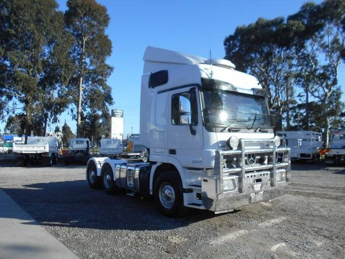 2013 MERCEDES-BENZ 2655 ACTROS null null WHITE