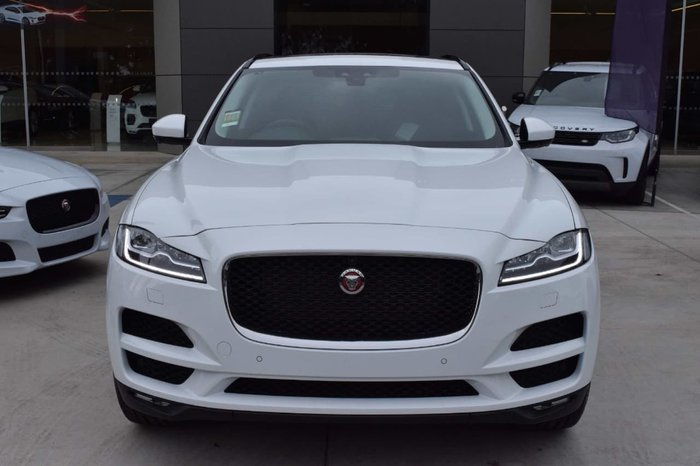 2017 Jaguar F-PACE 25d Portfolio X761 MY18 Four Wheel Drive White