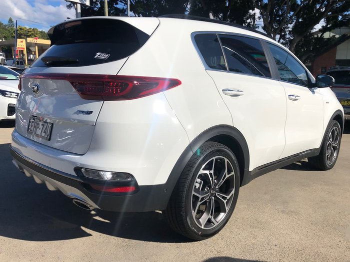 2020 Kia Sportage GT-Line QL MY20 4X4 On Demand White