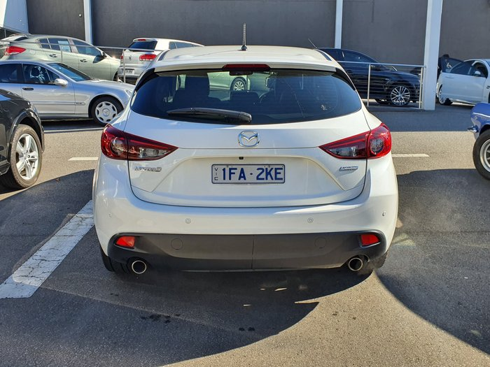 2015 Mazda 3 Touring BM Series White