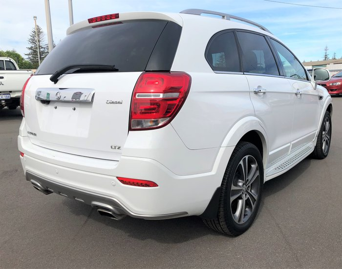 2018 Holden Captiva LTZ CG MY18 4X4 On Demand White