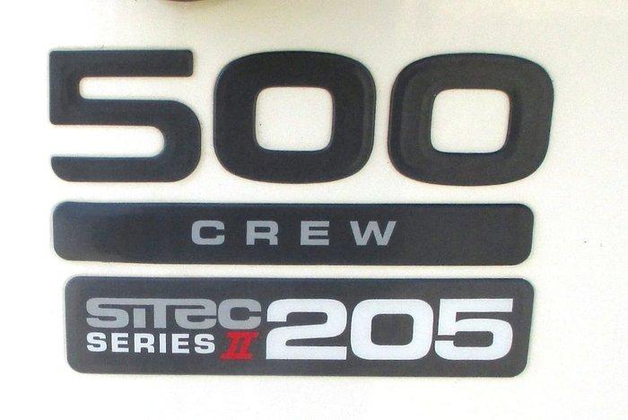 2010 ISUZU FRR500 White