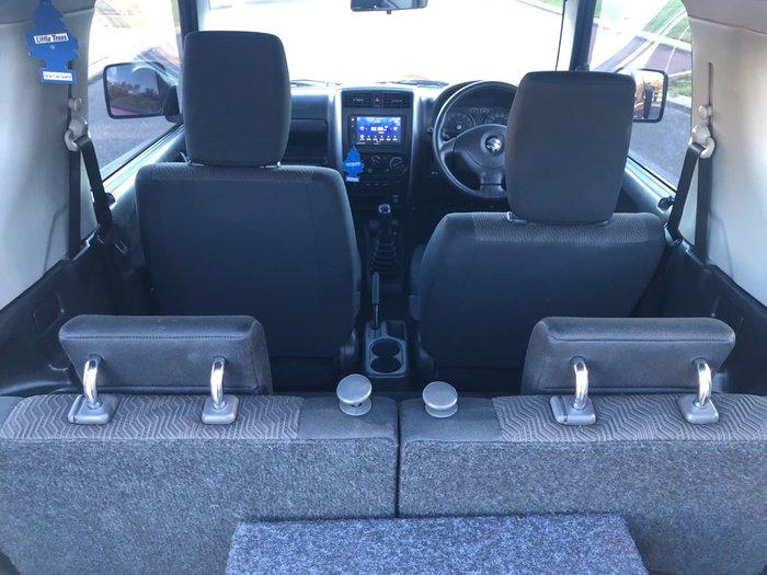 2012 Suzuki Jimny Sierra SN413 T6 MY13 4X4 Dual Range Maroon