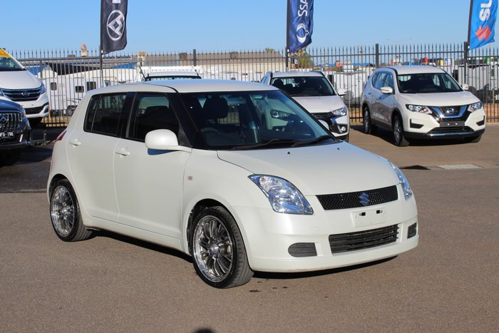 2006 Suzuki Swift RS415 White