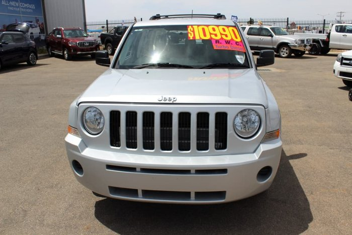 2007 Jeep Patriot Sport MK MY07 4X4 On Demand Silver