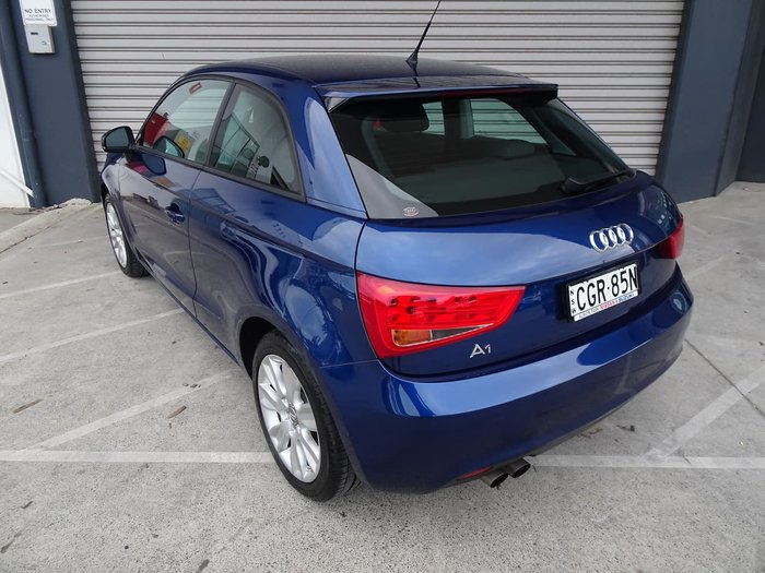 2011 Audi A1 Attraction 8X MY11 Blue