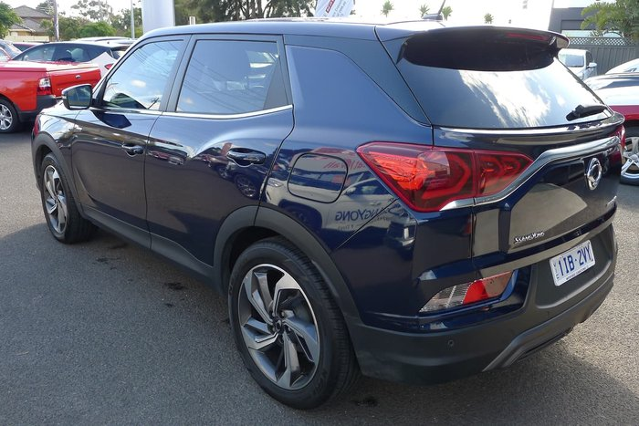 2019 SsangYong Korando Ultimate LE C300 MY20 4X4 On Demand Blue