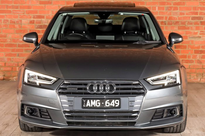 2016 Audi A4 sport B9 MY17 Four Wheel Drive Grey