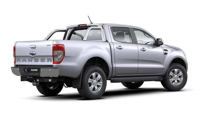 2019 Ford Ranger FX4 PX MkIII MY20.25 4X4 Dual Range Silver