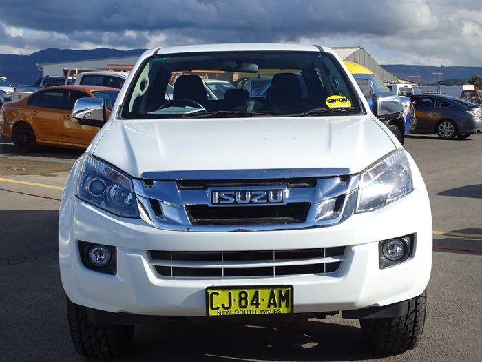 2016 Isuzu D-MAX LS-U High Ride MY15.5 White