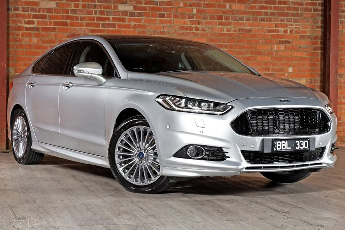 2017 Ford Mondeo Titanium MD MY17 Silver