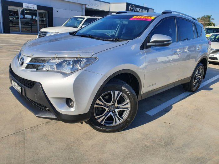 2014 Toyota RAV4 GX ALA49R MY14 4X4 On Demand Silver