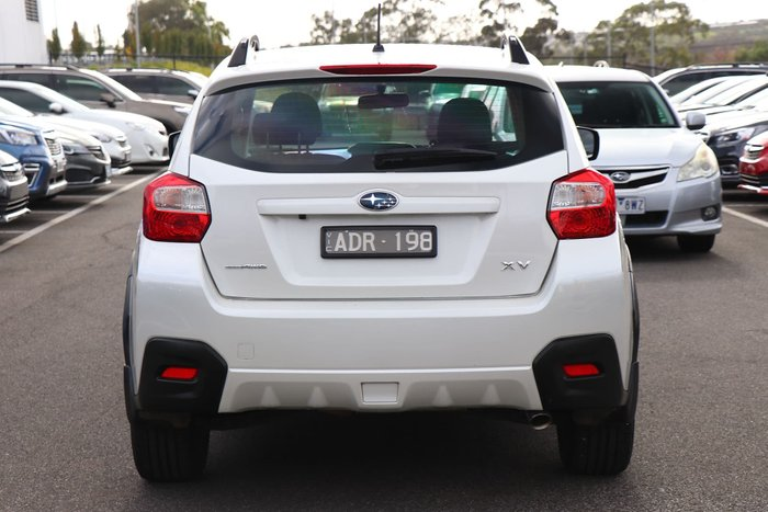 2015 Subaru XV 2.0i G4X MY14 Four Wheel Drive White