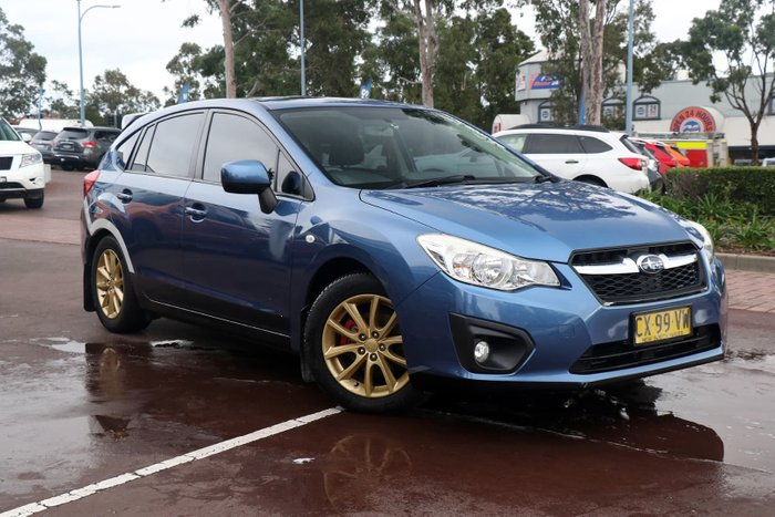 2014 Subaru Impreza 2.0i-L G4 MY14 Four Wheel Drive Blue