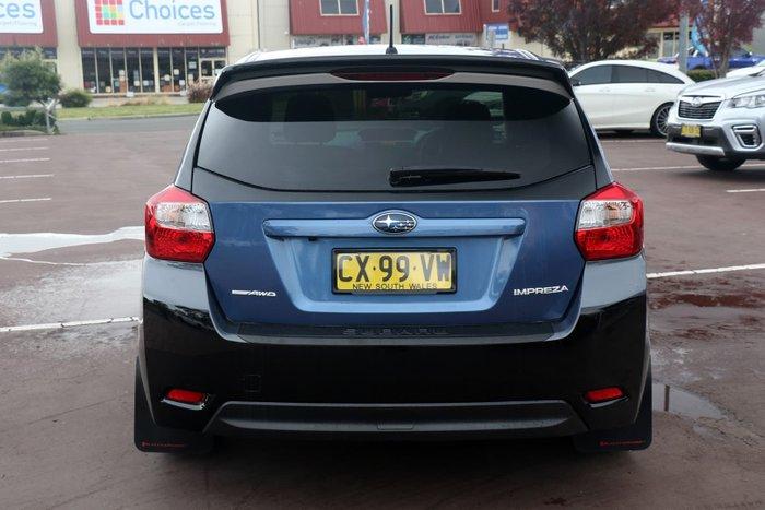 2014 Subaru Impreza 2.0i-L G4 MY14 Four Wheel Drive Blue