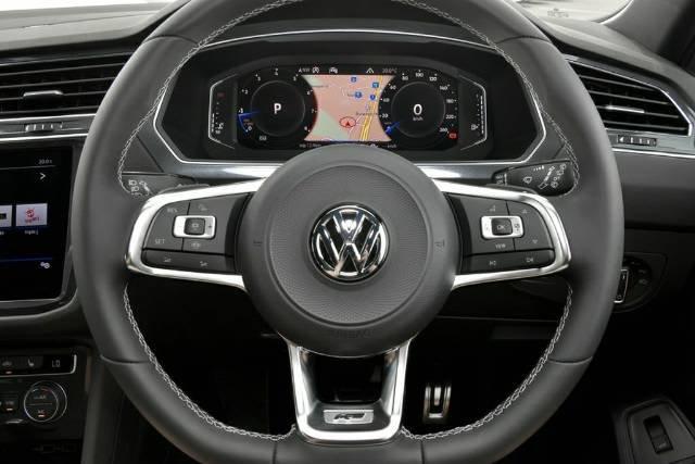 2020 Volkswagen Tiguan 162TSI Highline Allspace 5N MY20 Four Wheel Drive PYRITE SILVER