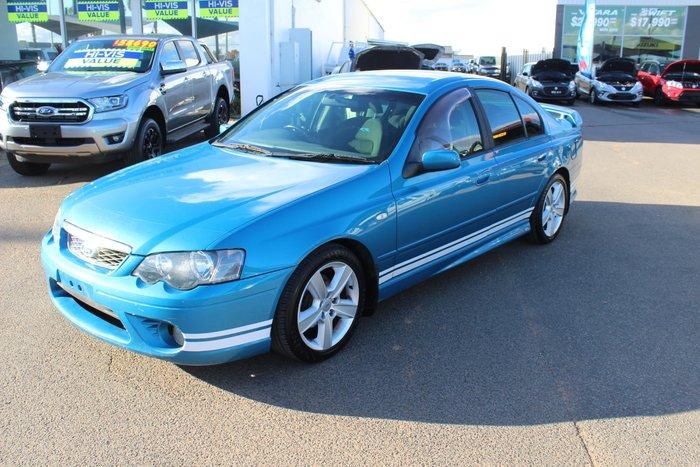 2006 Ford Falcon XR6 BF Mk II Blue