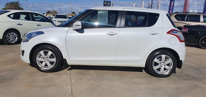 2013 Suzuki Swift GA FZ MY13 White