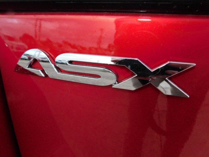 2019 Mitsubishi ASX ES XD MY20 Brilliant Red