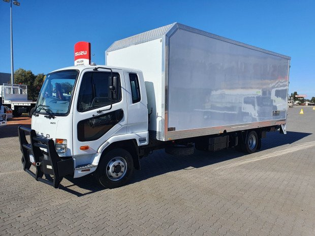 2013 Fuso Fighter 1024 5 Ton Van and Lift