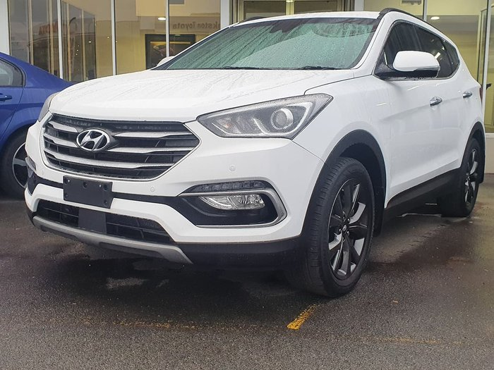 2017 Hyundai Santa Fe Active X DM3 Series II MY17 White