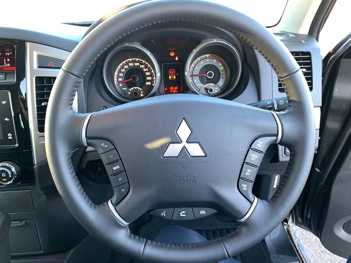 2020 Mitsubishi Pajero GLS NX MY20 4X4 Dual Range Grey