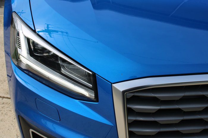 2019 Audi Q2 35 TFSI design GA MY19 Blue