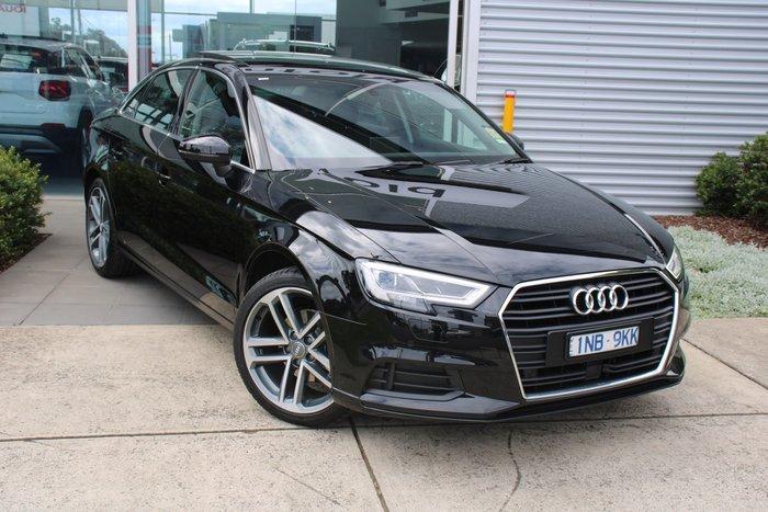 2019 Audi A3 35 TFSI 8V MY19 Black