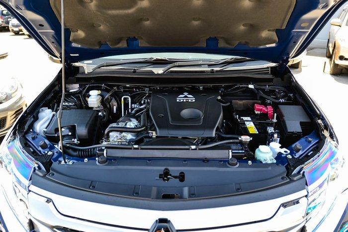 2016 Mitsubishi Pajero Sport GLS QE MY16 4X4 Dual Range Blue