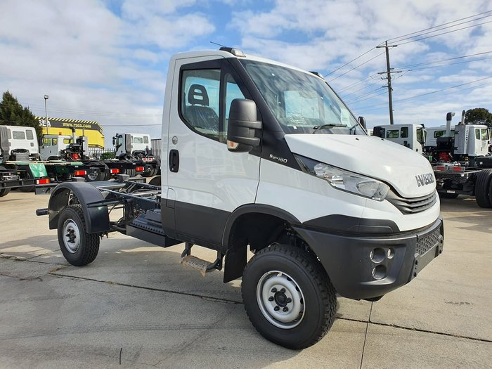 2020 IVECO DAILY 55S18 SINGLE CAB 4X4 null null White