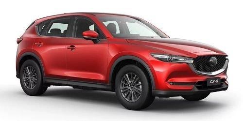 2020 MAZDA CX-5 MAXX SPORT CX-5 J 6AUTO MAXX SPORT PETROL AWD Soul Red Crystal