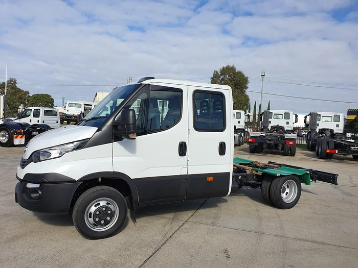 2020 IVECO 50C21 DUAL CAB 3450MM WHEELBASE null null White