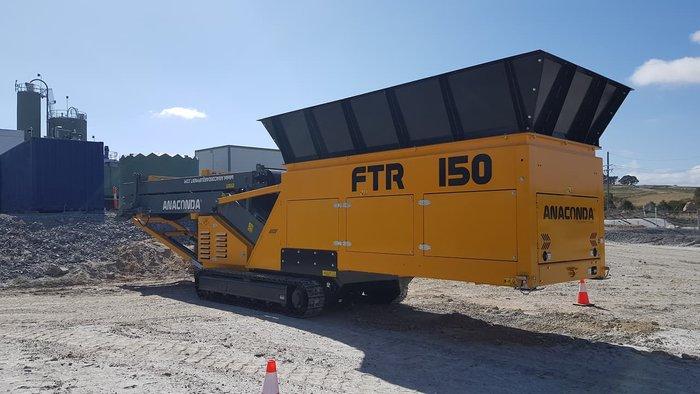 2020 ANACONDA FTR150 Yellow